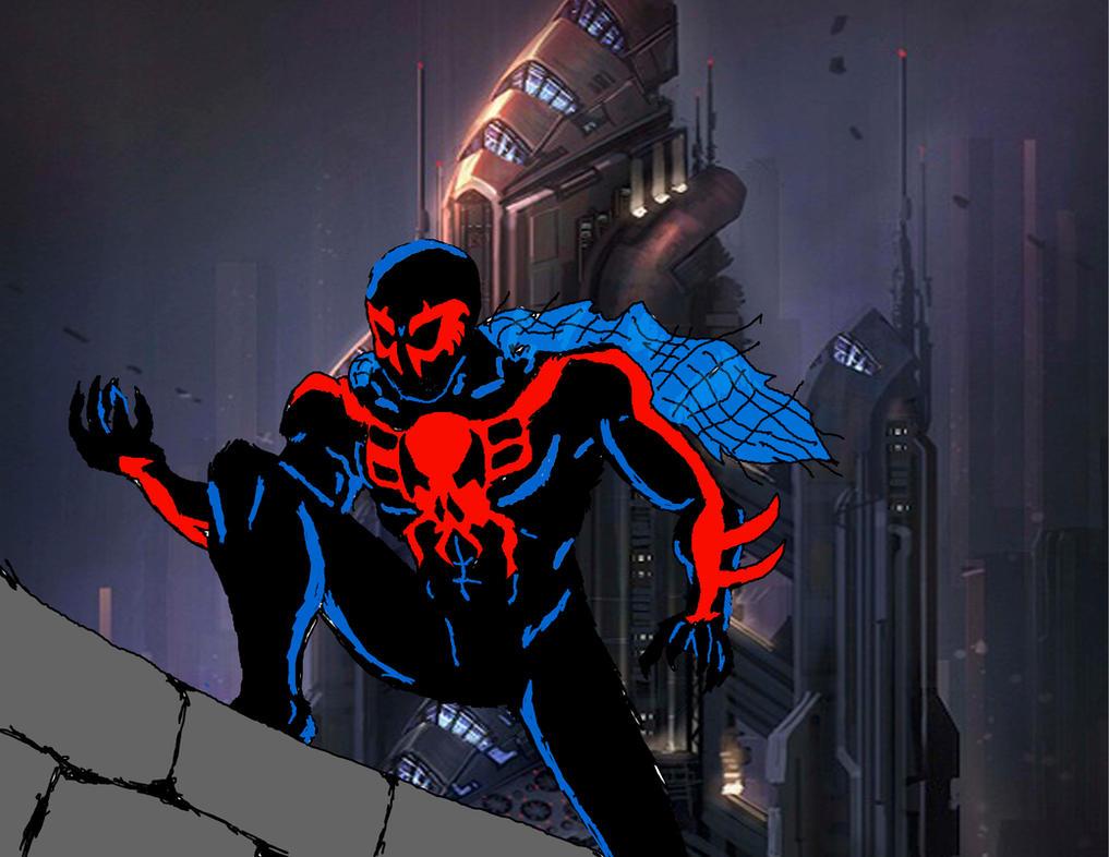 Spider-Man 2099 By NeonGenesisGuyverIII On DeviantArt
