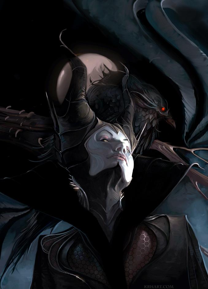 Maleficent by krhart