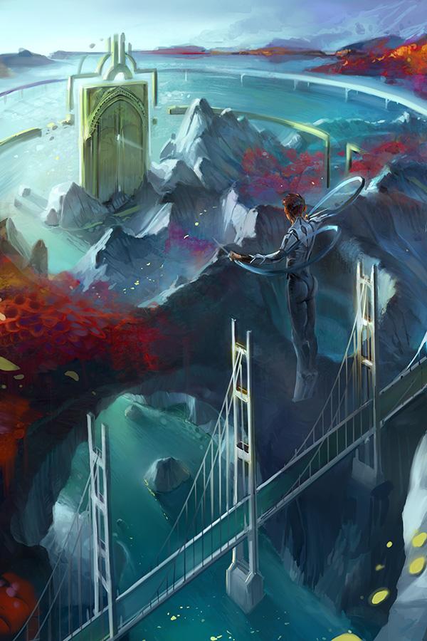 Volga Story - Ixmiir Gate by krhart