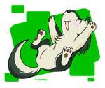 Cuddly chibi wolf Link