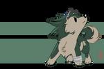 Epic chibi wolf Link