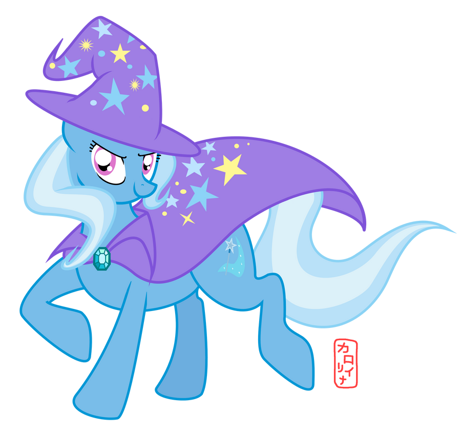 Trixie y u so great and powerful? by QueenCarolina