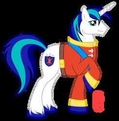 Shining armor y u so handsome? by QueenCarolina