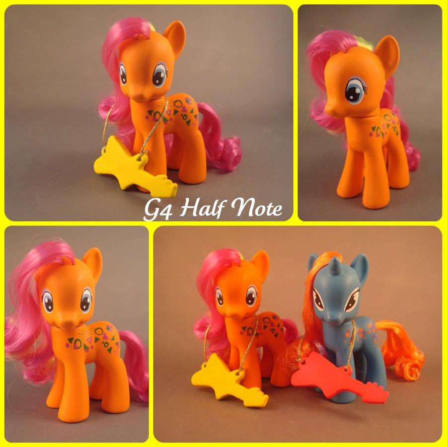 swap pony g4 half note by hannaliten on deviantart