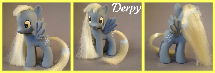 Derpy Hooves - a G4 custom by hannaliten