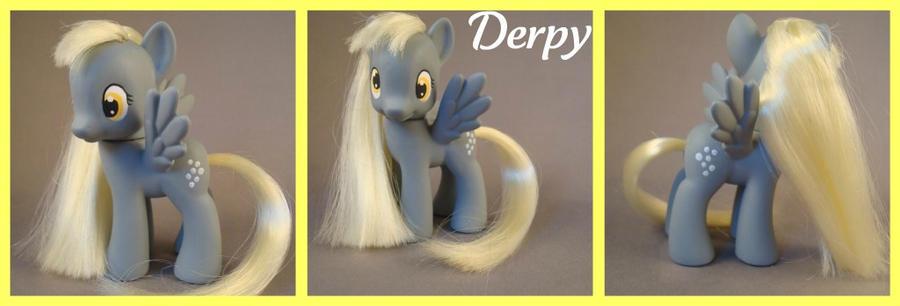 Derpy Hooves - a G4 custom by hannaliten