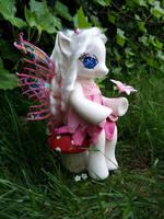 Camelia - a G4 fashion style fairy pony by hannaliten