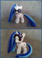 MLP: FiM - filly DJ pony - custom by hannaliten
