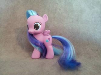 MLP: FiM - filly Flitterheart - custom pony by hannaliten