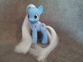MLP G1-G4 TAF Nightglider - custom pony by hannaliten