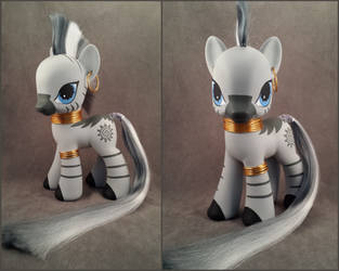 G4zilla Zecora - MLP:FiM custom pony by hannaliten