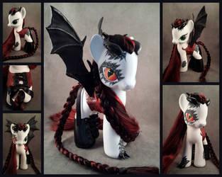 Incandessa - a custom G4zilla pony for PoD by hannaliten