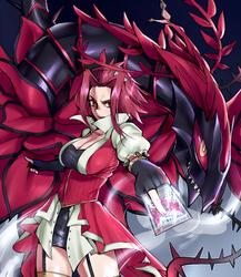 Black Rose Dragon by ryairyai