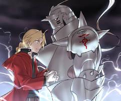 Fullmetal by ryairyai
