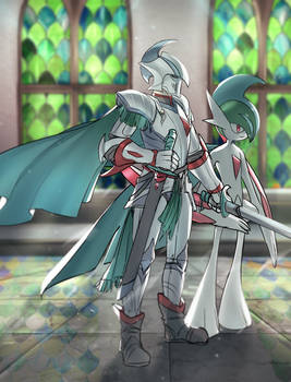 Mega Gallade Knight