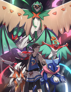 Champions of Alola ULTRA!
