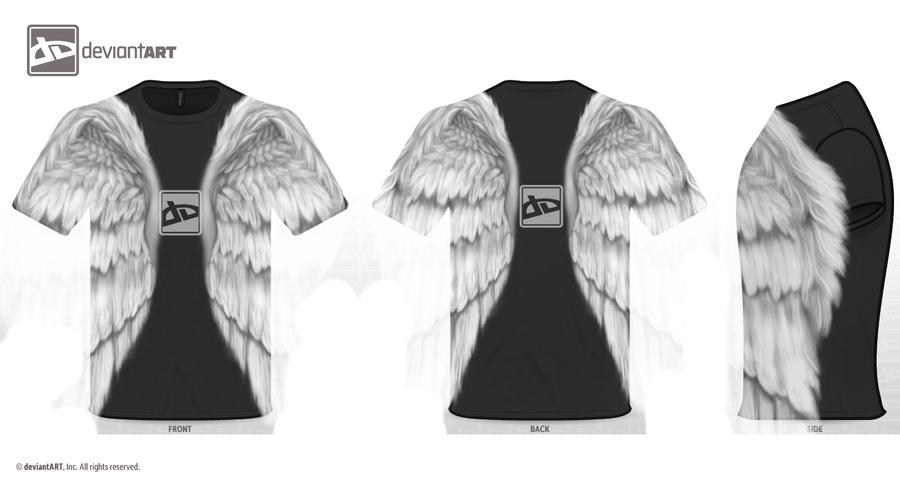 Deviantart T-shirt Design by Laithifee