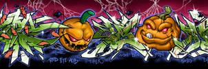 CUTE+BENONE's Halloween by EUKEE