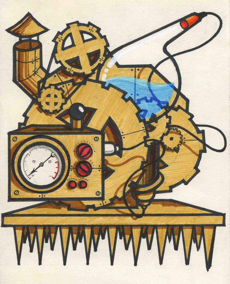 Bear Impaling Machine by EUKEE