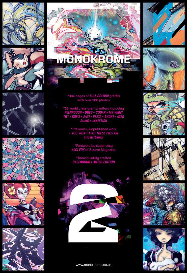 MONOKROME 2 flyer by EUKEE