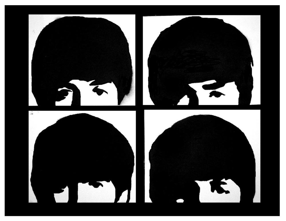 beatles stencil by heinpold - photo #5