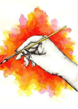 Inky hands9-Paintbrush