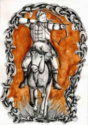 The fair huntsman