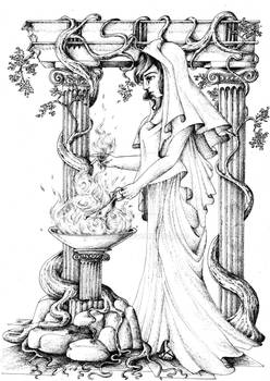 Goddess of the hearth