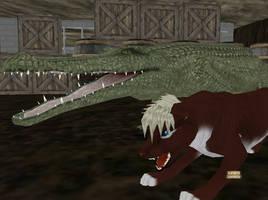 Gator Impression by ForsakenAngelRukia
