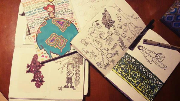 doodles  by papercuts