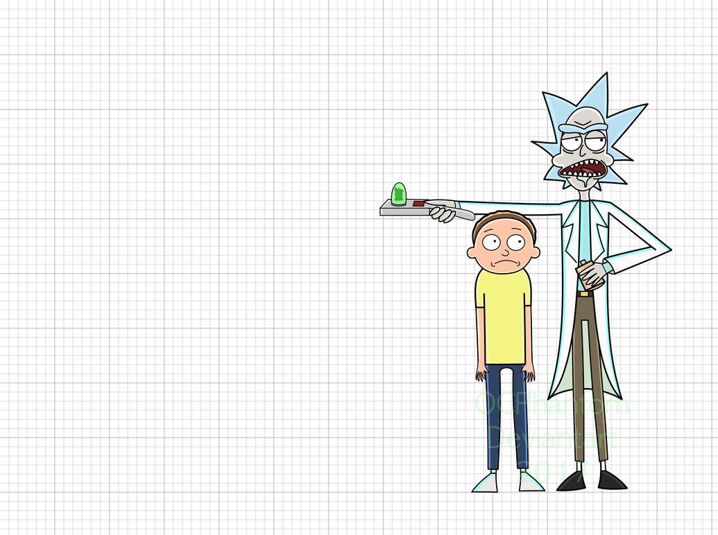 Rick And Morty by OCPhantom