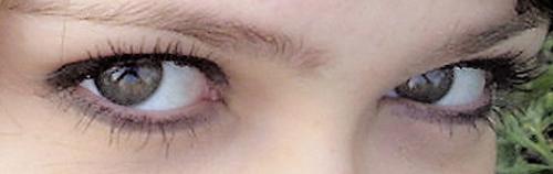 ...My eyes... by Dannyelle-emo