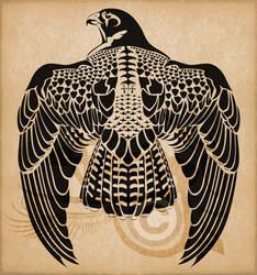 Egyptian Horus Peregrine Falcon
