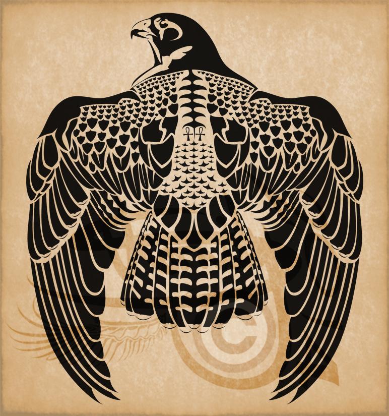 egyptian hawk symbol