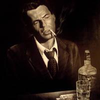Frank Sinatra by gerrykinch