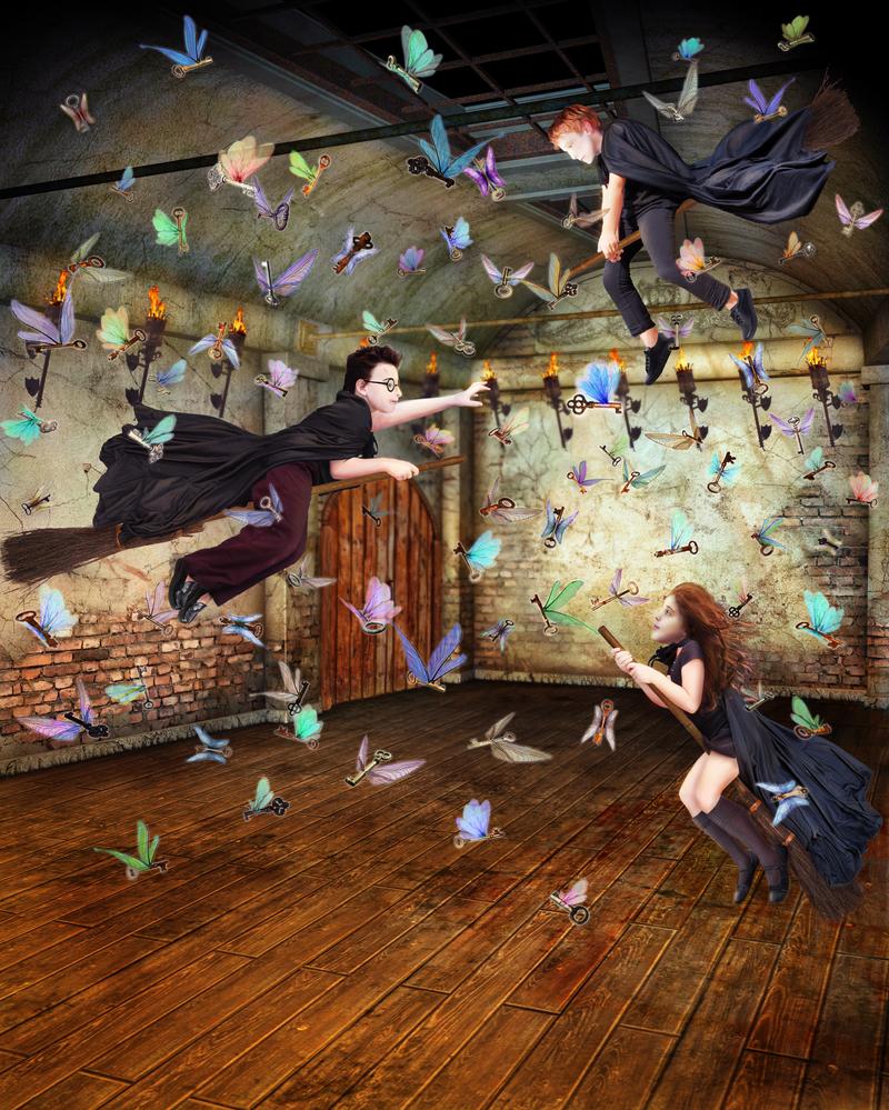 The Flying Keys by AntheaStones