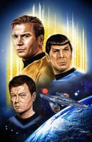Classic Star Trek Big 3 by vividfury