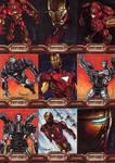 Iron Man 2 sketch cards set 8