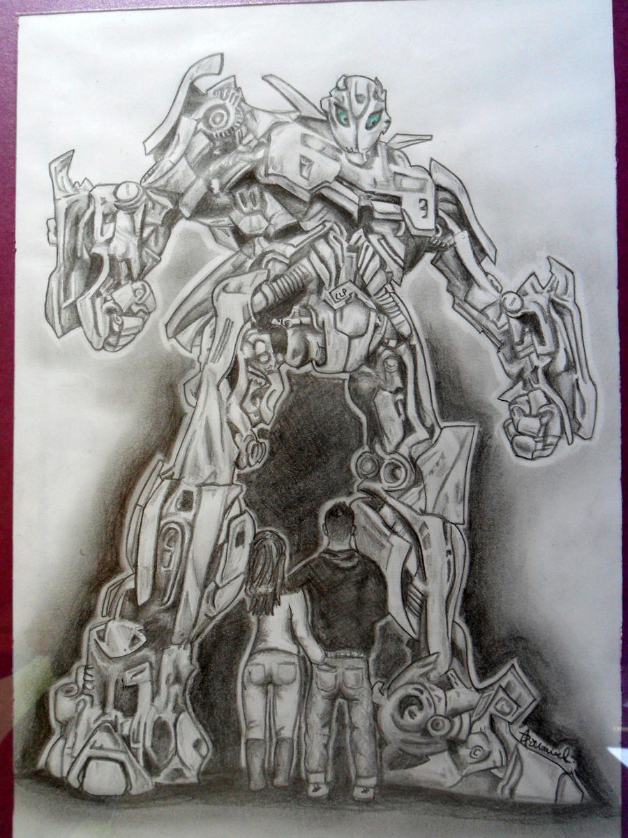 bumblebee from transformers drawing by jordanh17 on deviantart