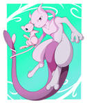 Mews - Mewtwo and Mew