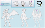 Wellek The White Dragon reference by OokamiNoTsubasa