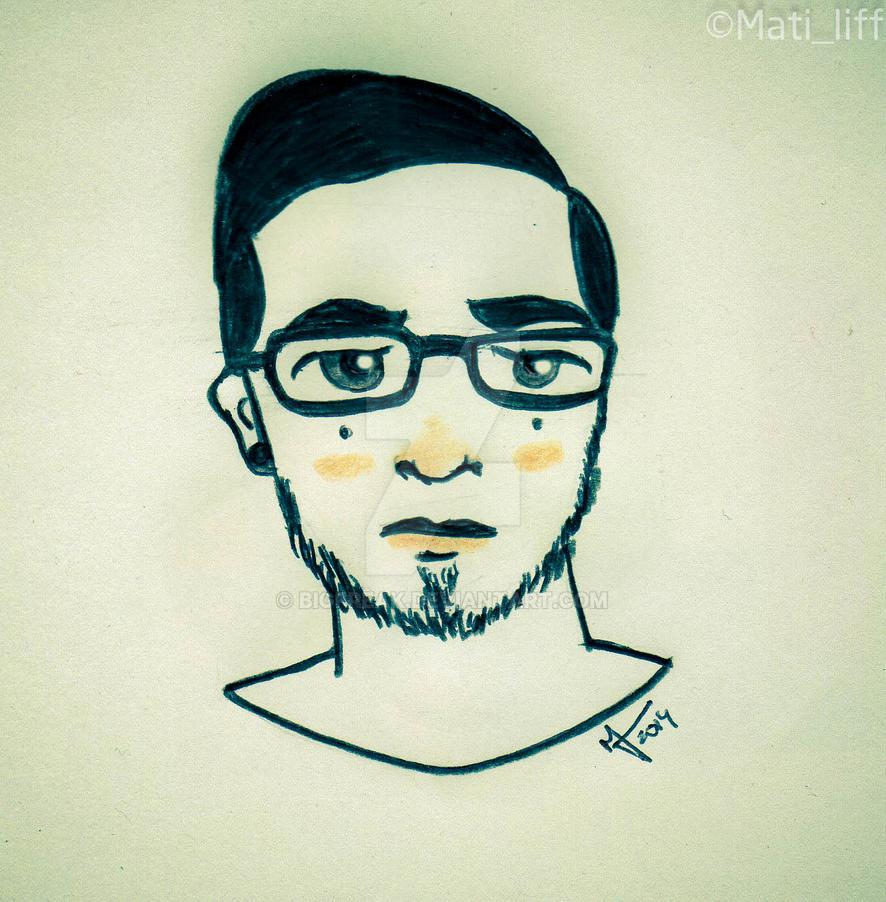 Portrait (8) by bigfreak