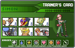 Simon - Trainer Card by ApachiChief