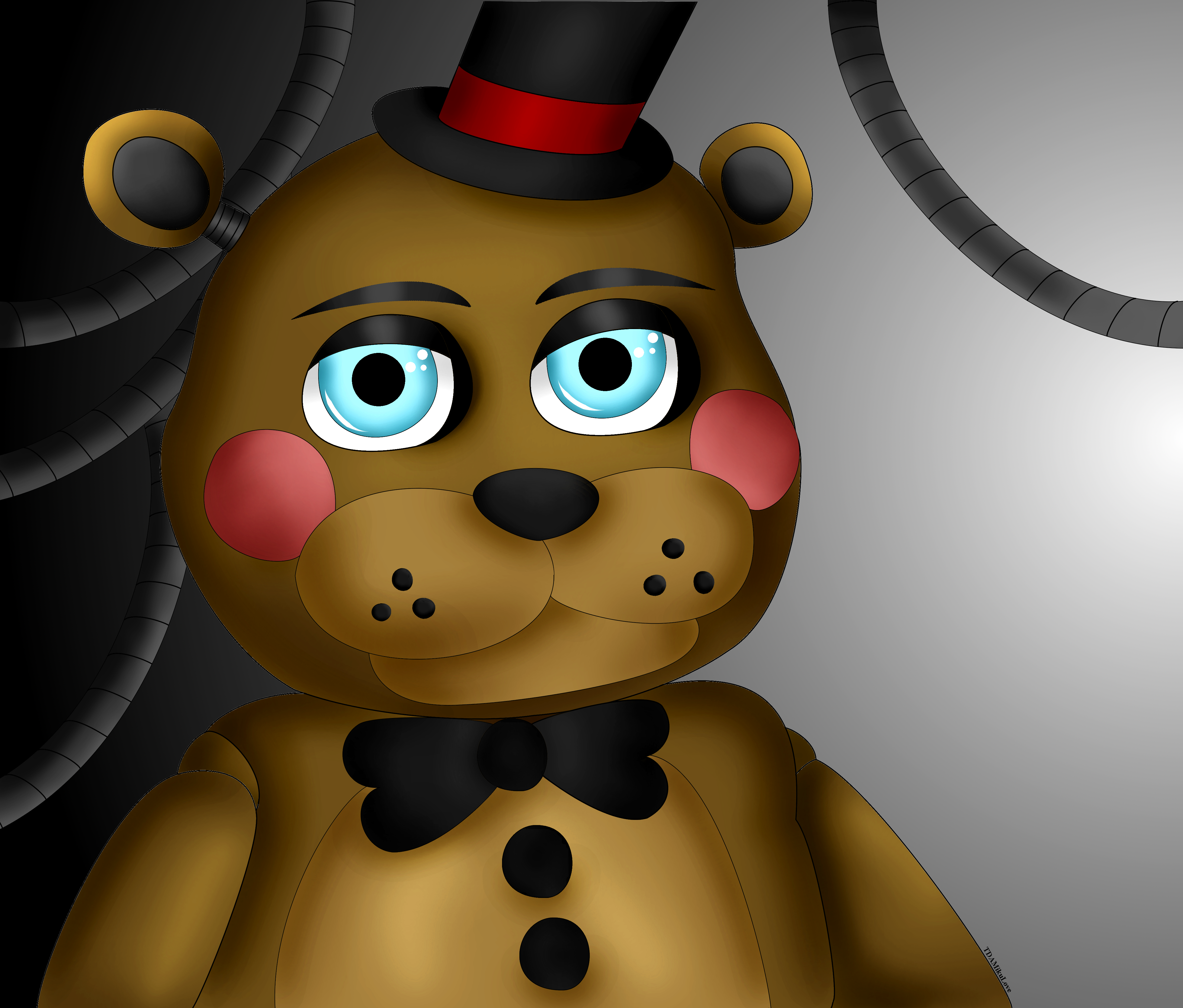 Five nights at freddy s toy freddy by tdamikulove d8bqeiw png