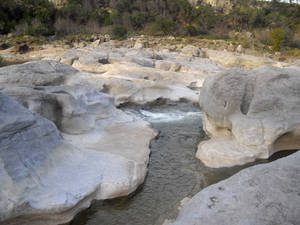 In Pedernales Falls