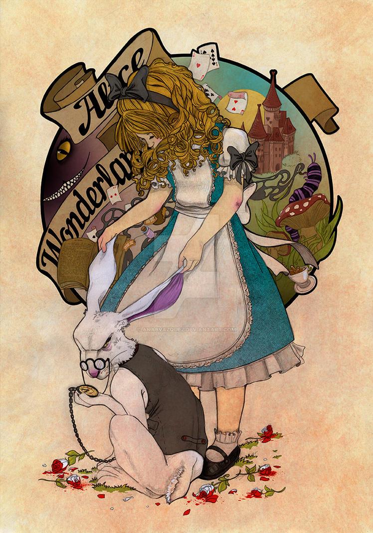 White Rabbit by soft-h on DeviantArt