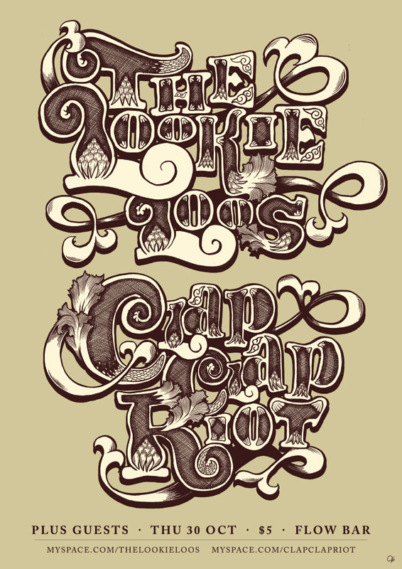 Ornamental Typography by scheurbert