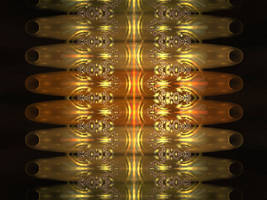 Reflections of golden light by iside2012