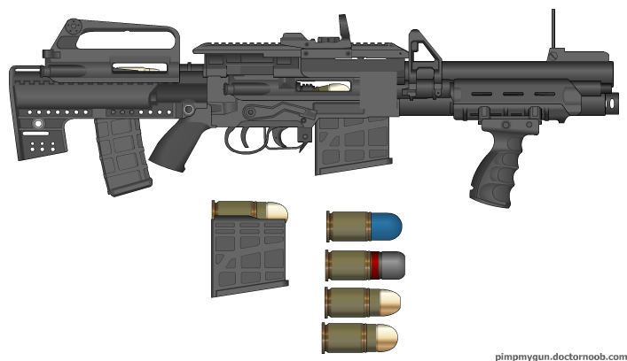 M16 Rifle With ...