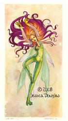 Firelily Fairy by JessicaDouglas